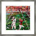 The Longest Yard - Alabama Vs Auburn Football Framed Print by Mark Moore