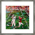 The Longest Yard Named  Framed Print by Mark Moore