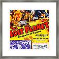 The Lost Planet, Top Right Judd Holdren Framed Print