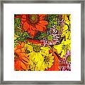 The Magic Bouquet Framed Print