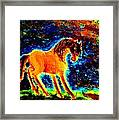 The Magic Horse Will Talk To You But Will You Understand  Framed Print
