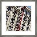 The Majestic Theater Dallas #2 Framed Print