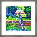 The Mann That Brings Rain Framed Print