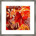 The Mask Double Framed Print
