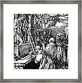 The Mass Of St. Gregory Framed Print