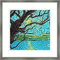 The Mermaid Tree Framed Print