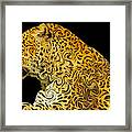 The Mighty Panthera Pardus Framed Print