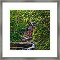 The Mill Paint 2 Framed Print