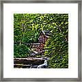 The Mill Paint 2 Framed Print by Steve Harrington