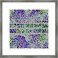 The Moon Abstract Framed Print