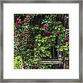 The Old Barn Window Framed Print
