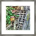 The Old Tool Shed Framed Print by Lanita Williams
