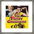 The Party Crashers, Connie Stevens Framed Print