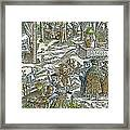 The Physic Garden, 1531 Framed Print