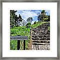 The Pilgrims' Steps Framed Print