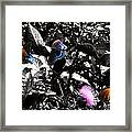 The Pit Stop Framed Print