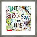 The Reason Of His Fall Framed Print