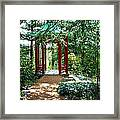 Asian Paths No. 29  Framed Print