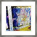 The Refracted Cobweb Framed Print