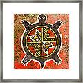The Sand Turtle Framed Print by Sergey Khreschatov