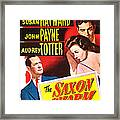 The Saxon Charm, Us Poster, From Left Framed Print