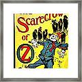 The Scarecrow Of Oz Framed Print