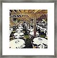 The Ship Cafe Dining Room In Venice Ca 1910 Framed Print