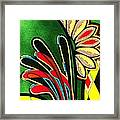 Shy Flower Framed Print