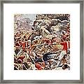 The Siege Of Delhi, 1857 Storming Framed Print
