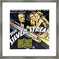 The Silver Streak, Us Poster Art Framed Print
