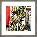 The Spare Wheel  Framed Print