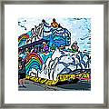 The Spirit Of Mardi Gras Framed Print
