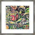 The Story Lady Framed Print