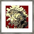 The Symbol Of Fire  Framed Print