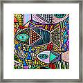 The Talavera Sea Framed Print
