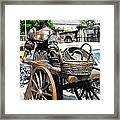 The Tart With The Cart Framed Print