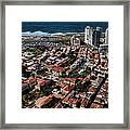 the Tel Aviv charm Framed Print