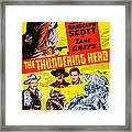 The Thundering Herd, Aka Buffalo Framed Print