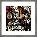 The Tibertine Sibyl In Stained Glass Framed Print