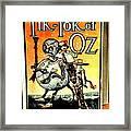 The Tik Tok Of Oz Framed Print