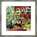 the Torah is aquired with attentive listening 11 Framed Print