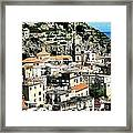 The Town Of Minori Framed Print by H Hoffman