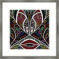 The Troubled Tribe Framed Print by Karunita Kapoor