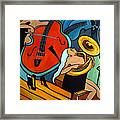 The Tuba Player Framed Print