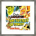 The Tuttles Of Tahiti, Us Poster, Top Framed Print