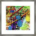 The Tzaddik Lives On Emunah 22c Framed Print