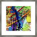 The Tzaddik Lives On Emunah 22d Framed Print