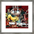 The Unicorn Purifies The Water Framed Print