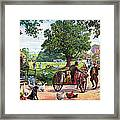 The Village Green Framed Print