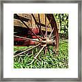 The Wagon Wheel Framed Print